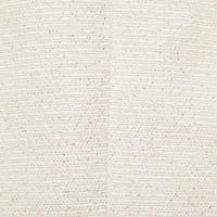 Textured Cropped Jacket White