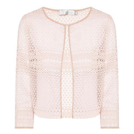 Lace Jacket Pink