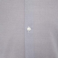 Jason Micro-Print Shirt Blue