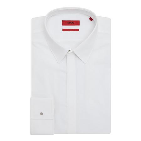 Kebros Slim Fit Shirt White