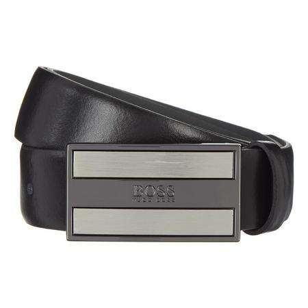 Bexter Leather Belt Black