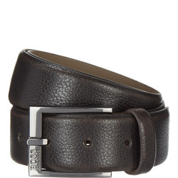 Black Leather Belt Black