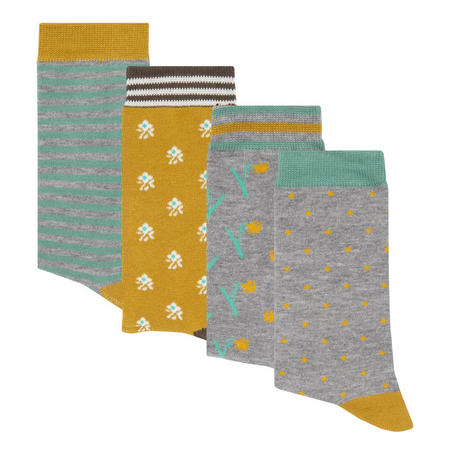 Gift Collection of Socks Multicolour