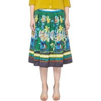 Printed Midi Skirt Multicolour