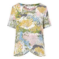 Floral Print Top Multicolour