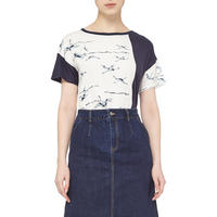 Swan Print T-Shirt Multicolour