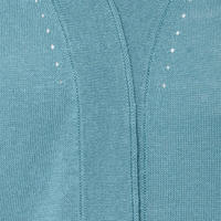 Short Sleeve Cardigan Green