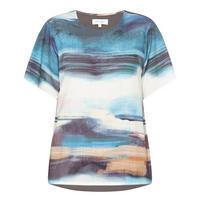 Sargasso Sea Print T-Shirt   Grey