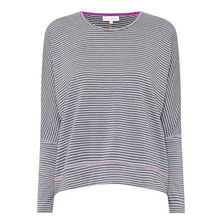 Linnawst Striped T-Shirt Grey