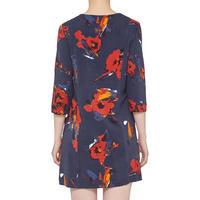 Contemporary Print Dress Multicolour