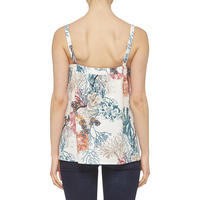 Relaxed Fit Floral Top Multi