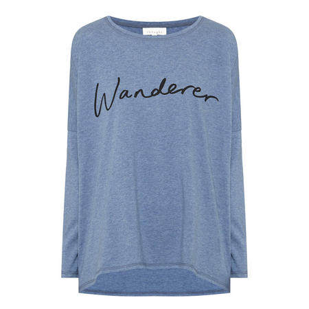 Wanderer Long Sleeve T-Shirt Blue
