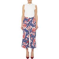 Floral Print Trousers Multicolour