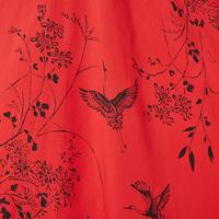 Floral Print Colour-Block Dress Multicolour