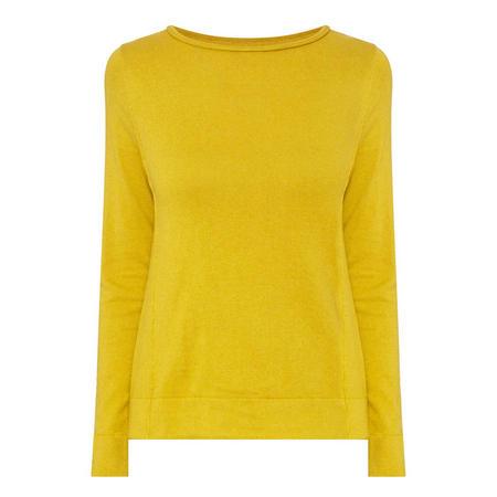 Round Neck Sweater Yellow