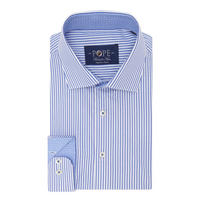 Bengal Stripe Print Shirt Blue