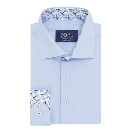 Twill Formal Shirt Blue