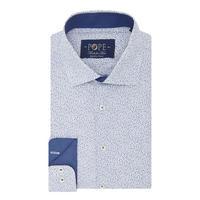 Textured Floral Print Formal Shirt Multicolour