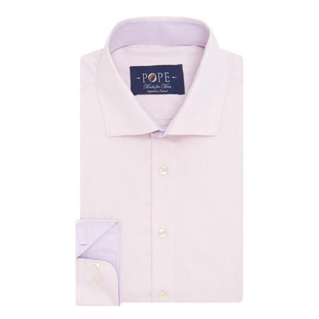 Herringbone Formal Shirt Pink