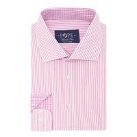 Bengal Stripe Print Shirt Pink