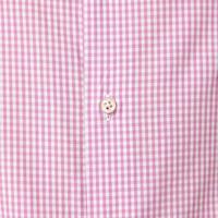 Gingham Print Shirt Pink