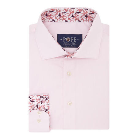 Twill Formal Shirt Pink