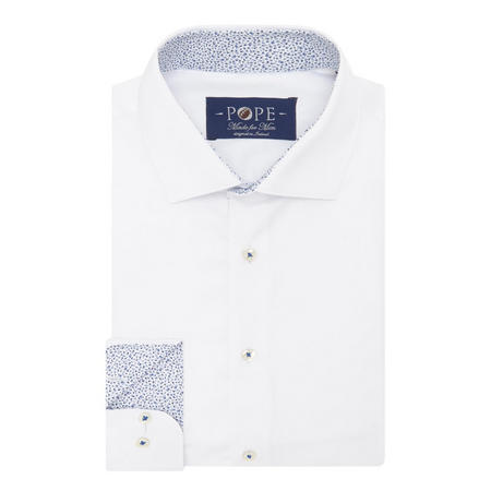 Twill Formal Shirt White