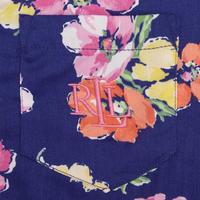 Flower Print Pyjamas Blue