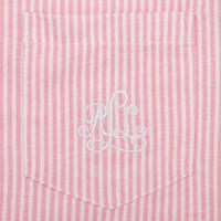 Heritage Stripe Pyjama Set Pink