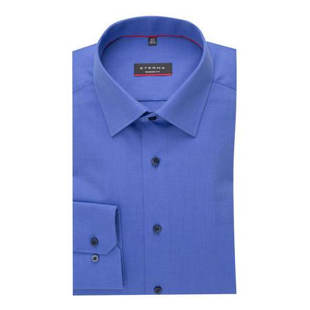 Modern Fit Formal Shirt Blue