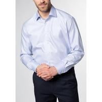 1863 Textured Weave Formal Shirt Blue