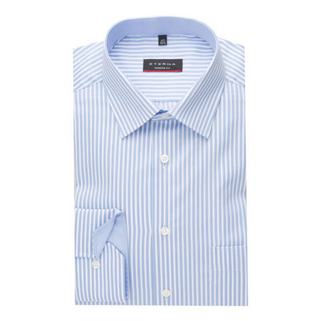 Bengal Stripe Formal Shirt Blue