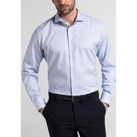 Textured Modern Fit Formal Shirt Light Blue