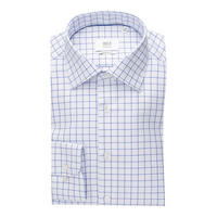 1863 Check Formal Shirt Blue