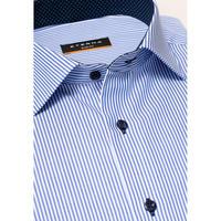 Striped Formal Shirt Blue