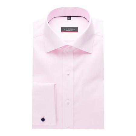Textured Formal Shirt Pink