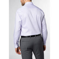 Textured Modern Fit Formal Shirt Purple