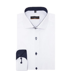 Dot Trim Formal Shirt