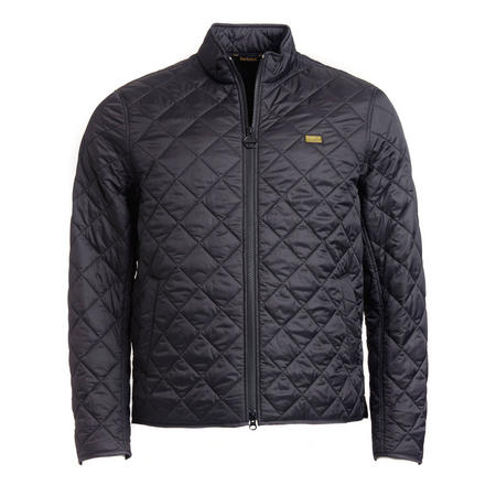 Gear Quilted Jacket Black