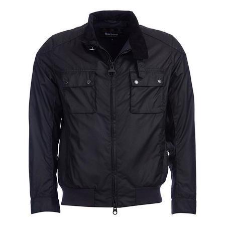 Spec Wax Jacket Black
