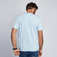 Steve McQueen Stencil T-Shirt Blue
