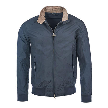 Steve McQueen Rectifier Harrington Jacket Blue