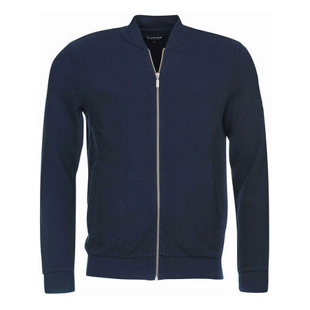 Grip Zip Front Sweater Navy