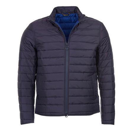 Upton Baffle Quilted Jacket Blue