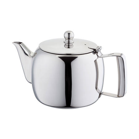 Traditional Teapot 4 Cup Set 900Ml  Stainless Steel