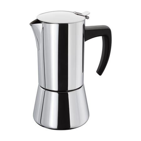 Espresso Maker 6 Cup Set 400Ml Stainless Steel
