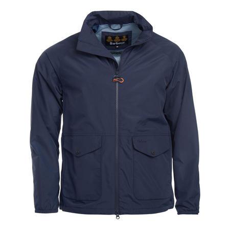 Two Pocket Zip Jacket Blue