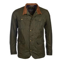 Lightweight Ogston Wax Jacket Green