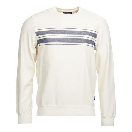 Zander Crew Neck Sweater Cream