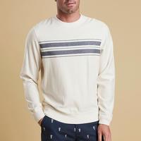 Zander Crew Neck Sweater Cream